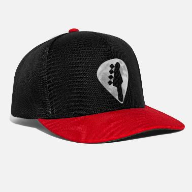 Bassist Bass Vollmond Plektrum - Snapback Cap