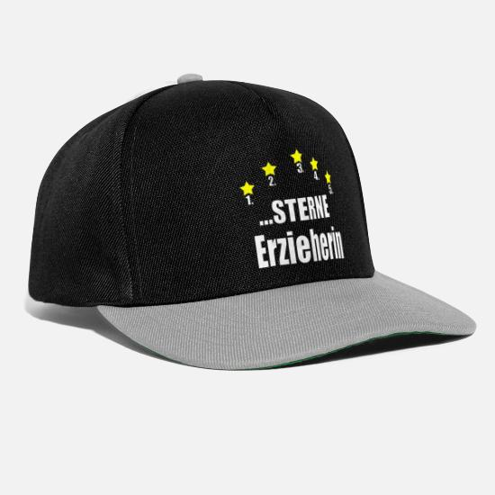 Kita Caps & Hats - Educator Educator Kids Kindergarten Gift - Snapback Cap black/grey