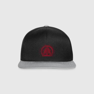 Illuminati - All Seeing Eye - Satan / Black Symbol - Czapka typu snapback
