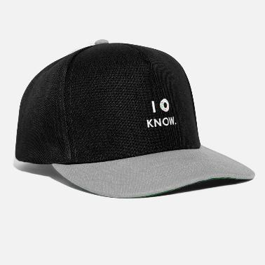 Donut I do not know - Snapback Cap