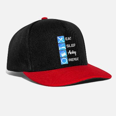 Theatre Theater actor theater show gift - Snapback Cap