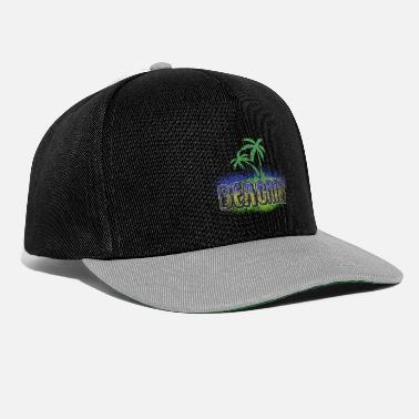 Voley Playa Idea de regalo de verano playa mar - Gorra Snapback