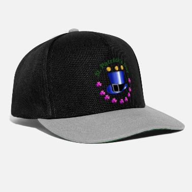 St Patricks Day St. Patricks Day // Zylinder mit Money - Snapback Cap