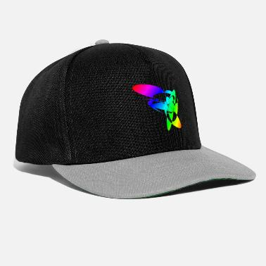 Sixties Colorful Rainbow Mandalas & Sixties Flower Power - Snapback Cap