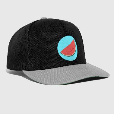 Melon illustration - Snapback Cap