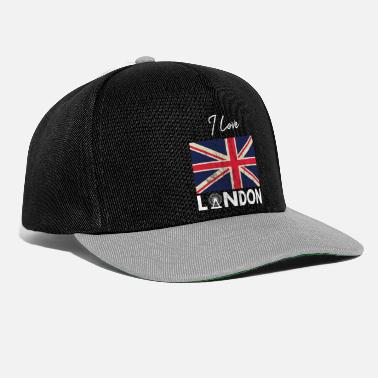 Unión Soviética I Love London - City Break - Regalo Union Jack - Gorra Snapback