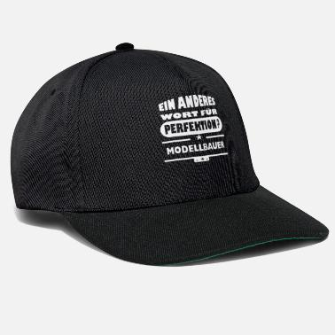 Wisdom Modellbauer Other word for perfection - Snapback Cap