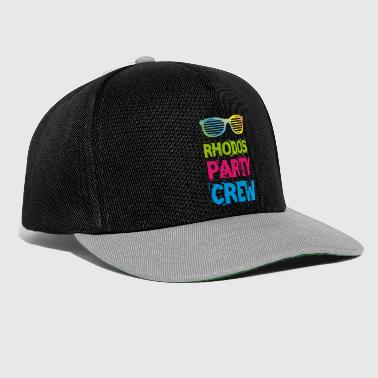 Rhodos Party Crew T-Shirt by DRUCKPUNK - Snapback Cap