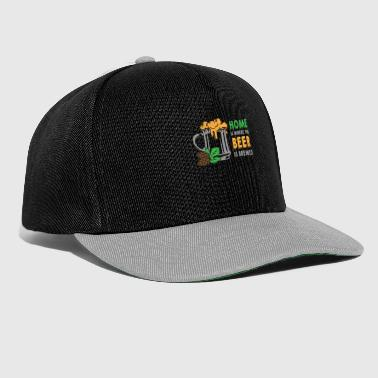 Home Is Where The Beer Is Brewed - Snapback Cap