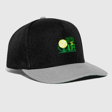 Volleybal is leven - Snapback cap