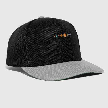 Solar System Planets Space Universe Universe - Snapback Cap