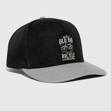 Bike love opa - Snapback cap