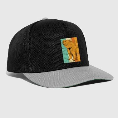 Ours animal cadeau - Casquette snapback