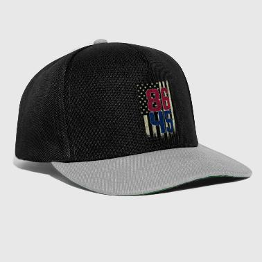 Resist Impeach the 45th President Tshirt 86 45 Protest Shirt - Snapback Cap