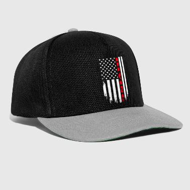 Hobby Patriotic Diving Player - Flag - Snapback Cap