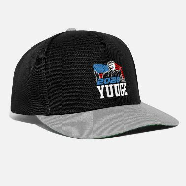 Donald Trump ReElect Trump dla prezydenta. Keep America Great! - Czapka typu snapback