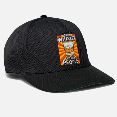Whisky Whisky di whisky con degustazione di whisky scozzese whisky - Cappello snapback