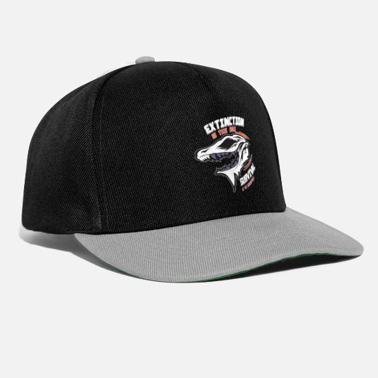 Survival Caps & Hats - Extinction - Snapback Cap black/grey