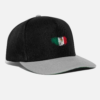 Mexico City Mexiko Flagg Mexikanskt - Snapbackkeps