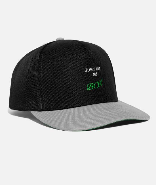 Fighter Caps & Hats - boxing - Snapback Cap black/grey