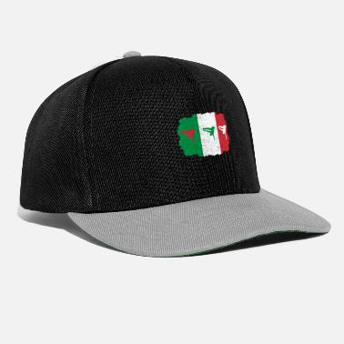 Breakdance breakdance bboy breakin italy italia flag home - Snapback Cap