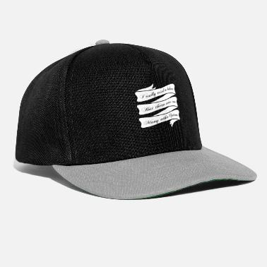 Miscellaneous Cute & Behave Tshirt Design Many other option - Snapback Cap