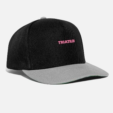 Triathlet Triathlete triathlete triathlete triathlete - Snapback Cap
