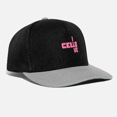 Musical Instrument Cellist - Snapback Cap