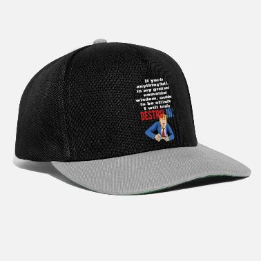 The Wisdom Of Totally Destroy - Snapback Cap