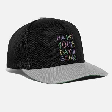 Grad Student Queen of the Classroom One Hundred Days of School - Snapback Cap