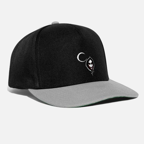 Awesome Caps & Hats - The Grim Reaper - Snapback Cap black/grey