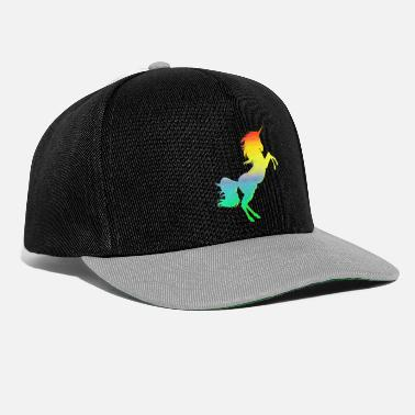 Collections Buntes Einhorn - Snapback Cap