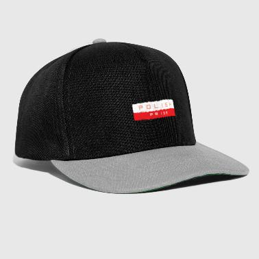 Armoiries Pologne - Casquette snapback