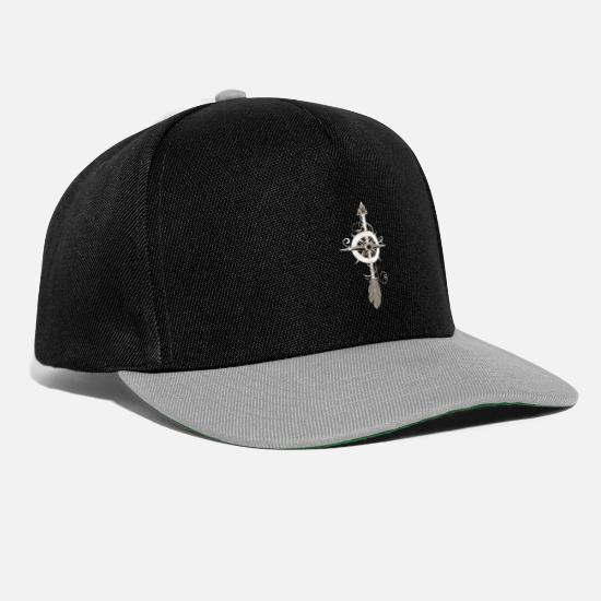 Birthday Caps & Hats - Bow Shooting Funny Archer Trainer - Snapback Cap black/grey