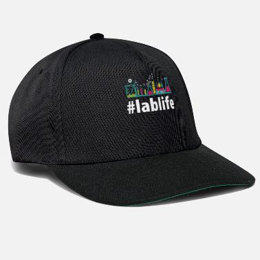 Ricerca Lablife design Gift Hashtag lab life PhD Science - Cappello snapback