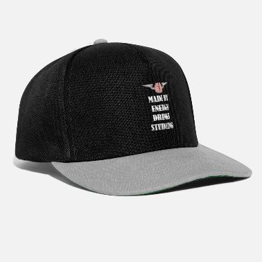 Fly Laget av Studying not Energy Drinks - Snapback cap