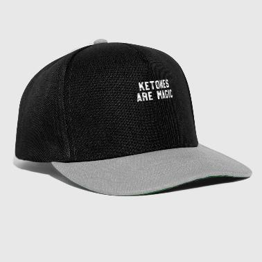 Bodybuilder Addicted To Keto - Funny Keto Shirt For Women - Ketosis Diet - Snapback Cap