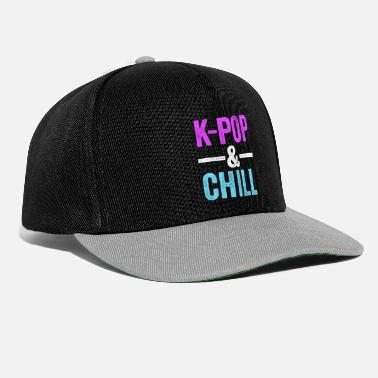 Pop Culture KPop & Chill KPop TShirt for Korean Culture Music - Snapback Cap