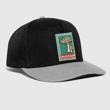Mushroom Picker Mushrooms mushrooms collect forest cooking nature gift - Snapback Cap