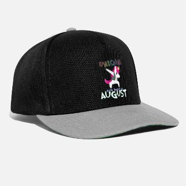 Born In Born Unicorns-Born August - Snapback Cap