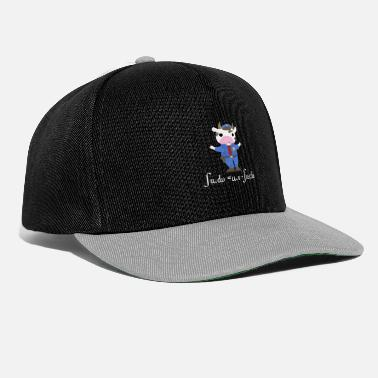 Uniform Een koe gekleed in uniform - Snapback cap