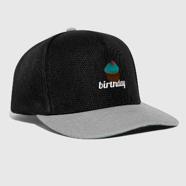 Birthday imprint! Gift idea for friends - Snapback Cap