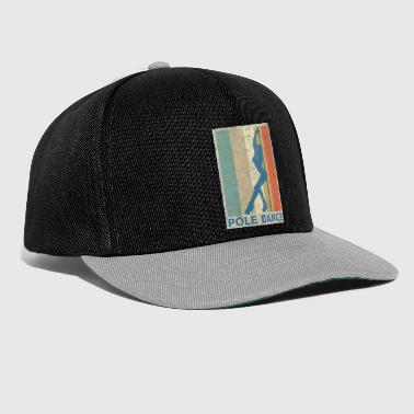 Retro Vintage Style Pole Tanssi Pole Dancing Tanssi - Snapback Cap