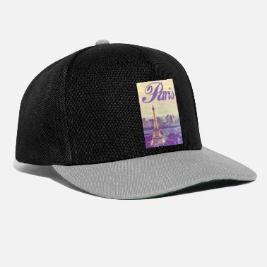 State Capital Paris Capital of France - Snapback Cap