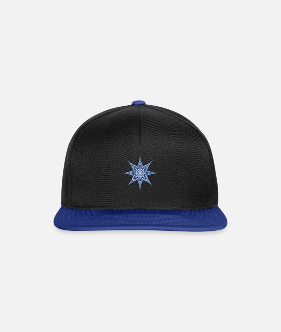 Snowflake Caps & Hats - Flake - Snapback Cap black/bright royal