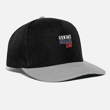 End Sixth Grade Dad T-Shirt for School 6th grade team - Snapback Cap