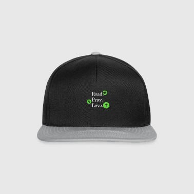 Read Pray Love Religion Foi foi T-Shirt Love - Casquette snapback