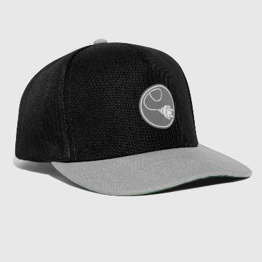 circle round logo connect connection cable plug - Snapback Cap