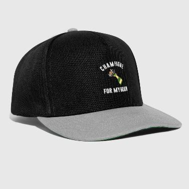 Prosecco Champagne For My Brain Celebration Champagne - Snapback Cap