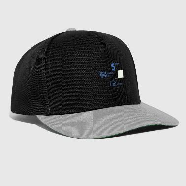 Shopping Shopping Shopping List Shopping Gift - Snapback Cap